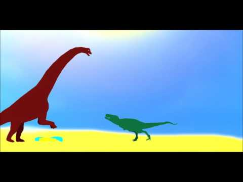 PPBA Alamosaurus vs Tyrannosaurus