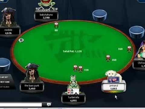 Spank wife poker