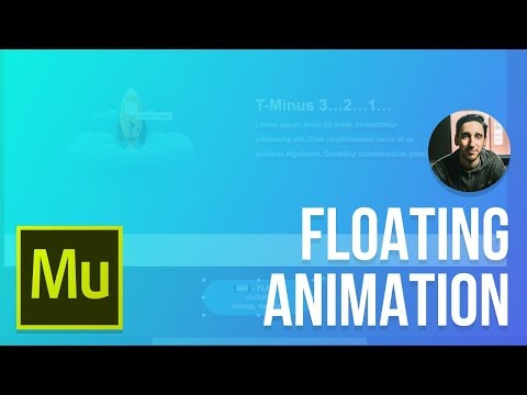 Creating a Floating Animation | Adobe Muse CC Tutorial