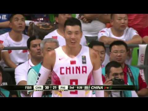 FIBA ASIA 2015 Philippines VS China Gold Medal Game 2nd Quarter
