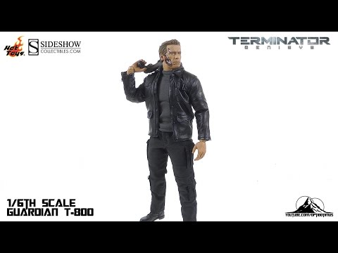 Hot Toys Terminator Genisys T-800 GUARDIAN Video Review streaming vf