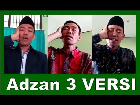 3 Versi Adzan Paling POPULER oleh Moh Tarom