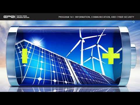 EPRI Information and Communications Technologies Program Overview Video