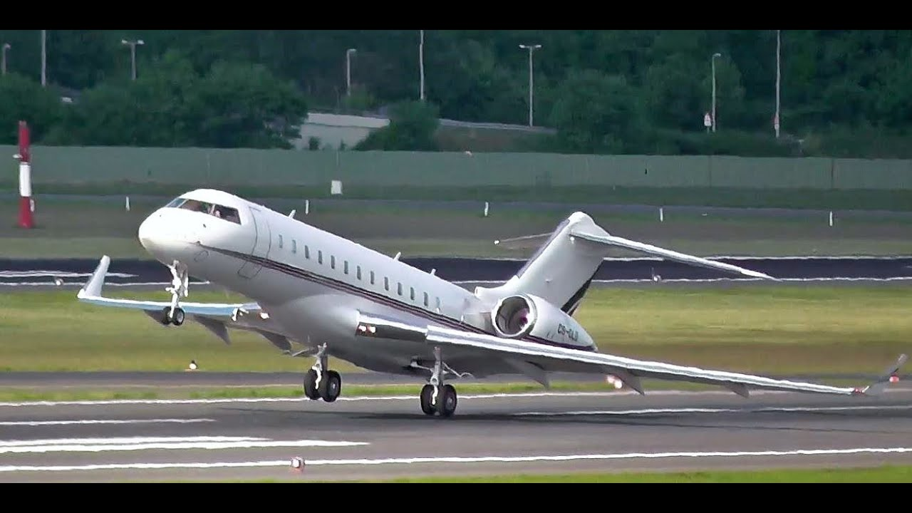 Very Cool Takeoff And Rare Netjets Europe Bombardier Bd