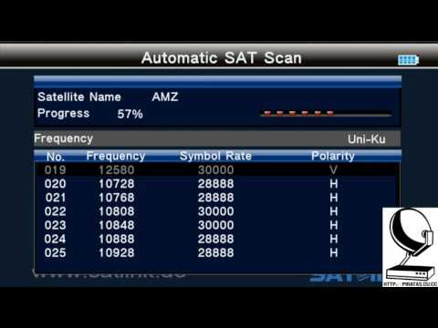 TP activos Amazonas 61W con SatLink WS-6979