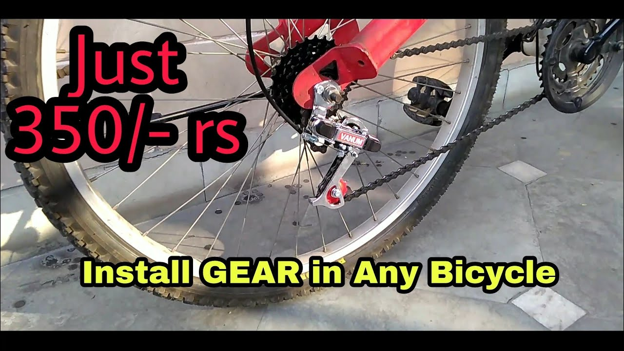 How To Install Gears In Any Bicycle Cheapest Mtb Gear Shimano