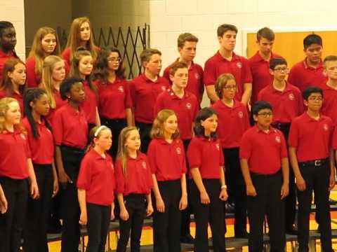 Still Middle School Honors Chorus sings O Sifuni Mungu