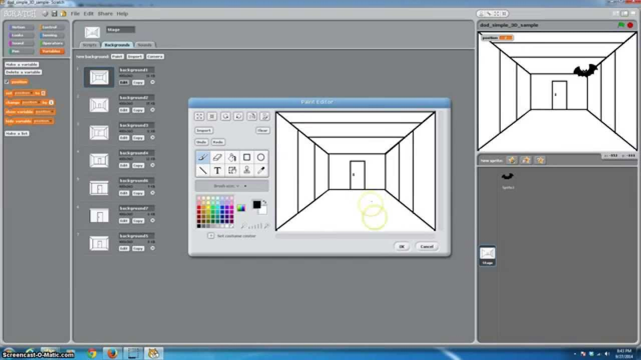 Scratch Programming 3D Gaming Tutorial fps? - YouTube