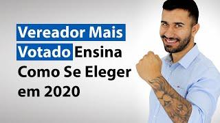 Vereador Mais Votado Ensina Como Se Eleger em 2020 | Caio Cunha