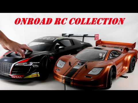 Losi 6ix Audi R8 and Onroad RC Collection