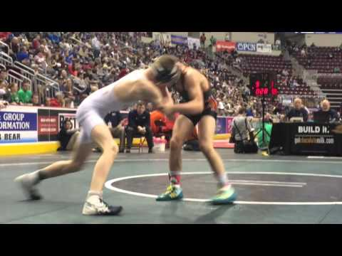 Wrestling Highlights: Gavin Teasdale, Jefferson-Morgan vs. Luke Pipa, Bishop McDevitt