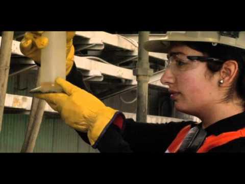 Mujeres en minería - Anglo American Chile