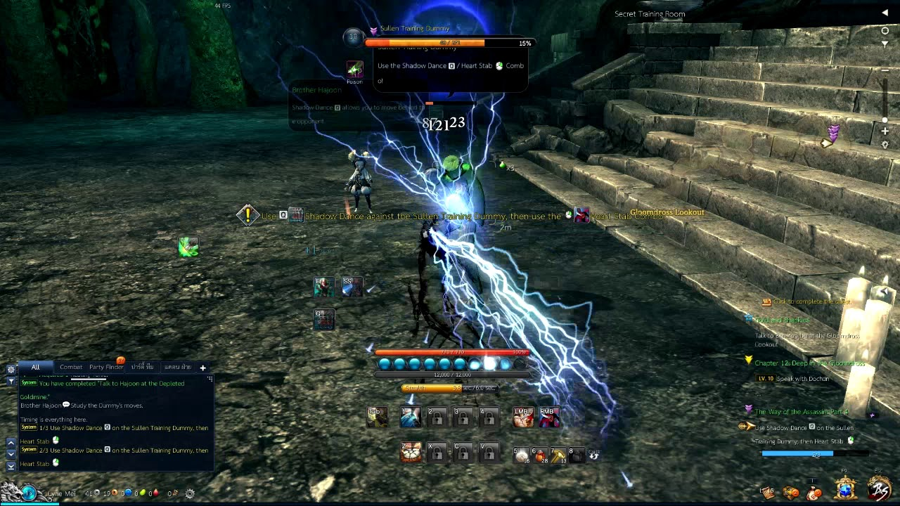 Blade and Soul Thailand Ping & FPS Test
