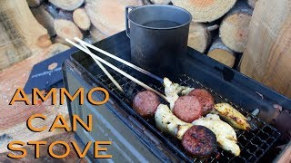Ammo Can Stove - A How To Bushcraft Video
