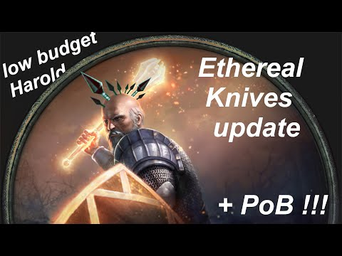 PoE: Ethereal Knives Update For Low Budget Guardian + PoB