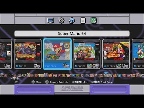 How To Add NES, GBA, N64 Games And More To The SNES Classic Using Hakchi And Retroarch