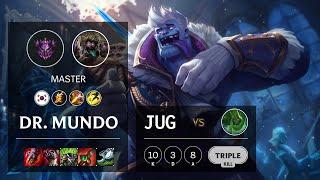 Dr. Mundo Jungle vs Zac - KR Master Patch 10.19