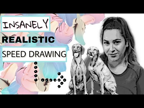 Speed Art | Realistic Dog Pencil Drawing | Baby Nursery