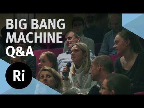 Q&A Building a Big Bang Machine on the Moon - with James Beacham