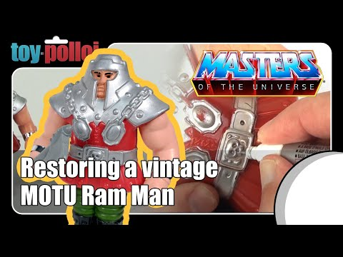 Fix it guide - Vintage Ram Man from Masters of the Universe by Mattel