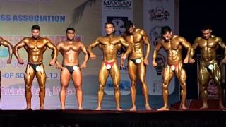 Yagyesh Narayan Bahuguna... 2015 Mr. India competition held in Margao, Goa.