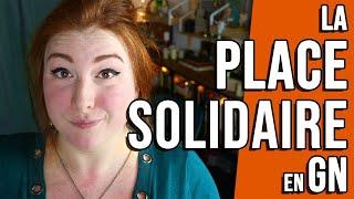Les places solidaires en GN • Clueless Cora