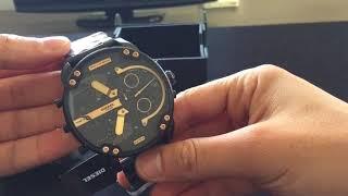 Unboxing of Diesel Big Daddy DZ7312 Men's 66mm Watch