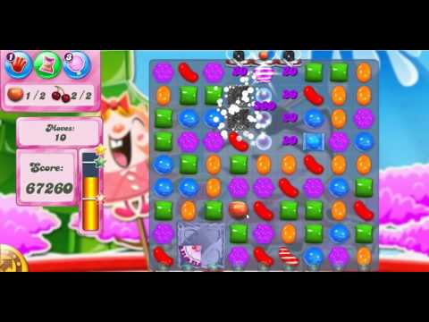 Candy Crush Saga Level 378 - 3 Stars - No Boosters Used