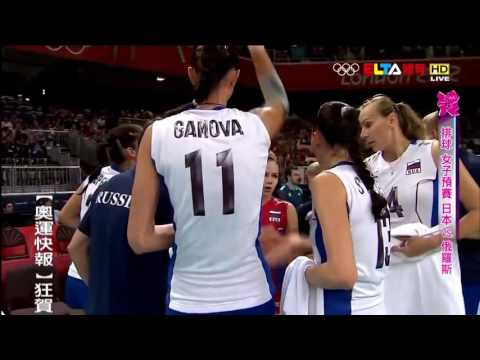 Russia - Japan || Olympics London 2012 || Volleyball