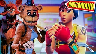 FIVE NIGHT AT FREDDY'S su FORTNITE - PROP HUNT - (100% HORROR) !