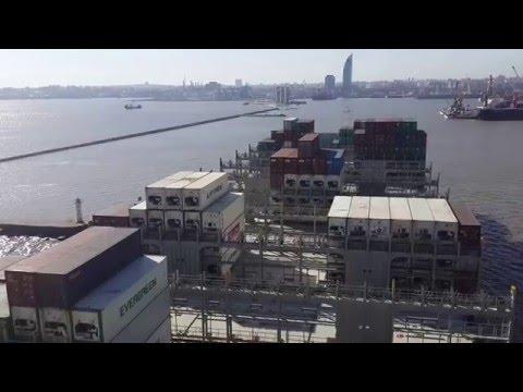 Container Ship Value #EntradaAMontevideo 16 JUN 2015 - 1154 hs