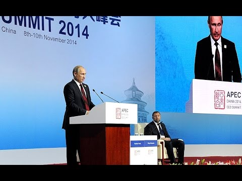 Vladimir Putin. APEC CEO Summit