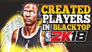 الدوري الاميركي للمحترفين 2K18 • كيفية استخدام إنشاؤها من اللاعبين في الأسفلت • NBA 2K18 إنشاء لاعب خلل (البرنامج التعليمي)