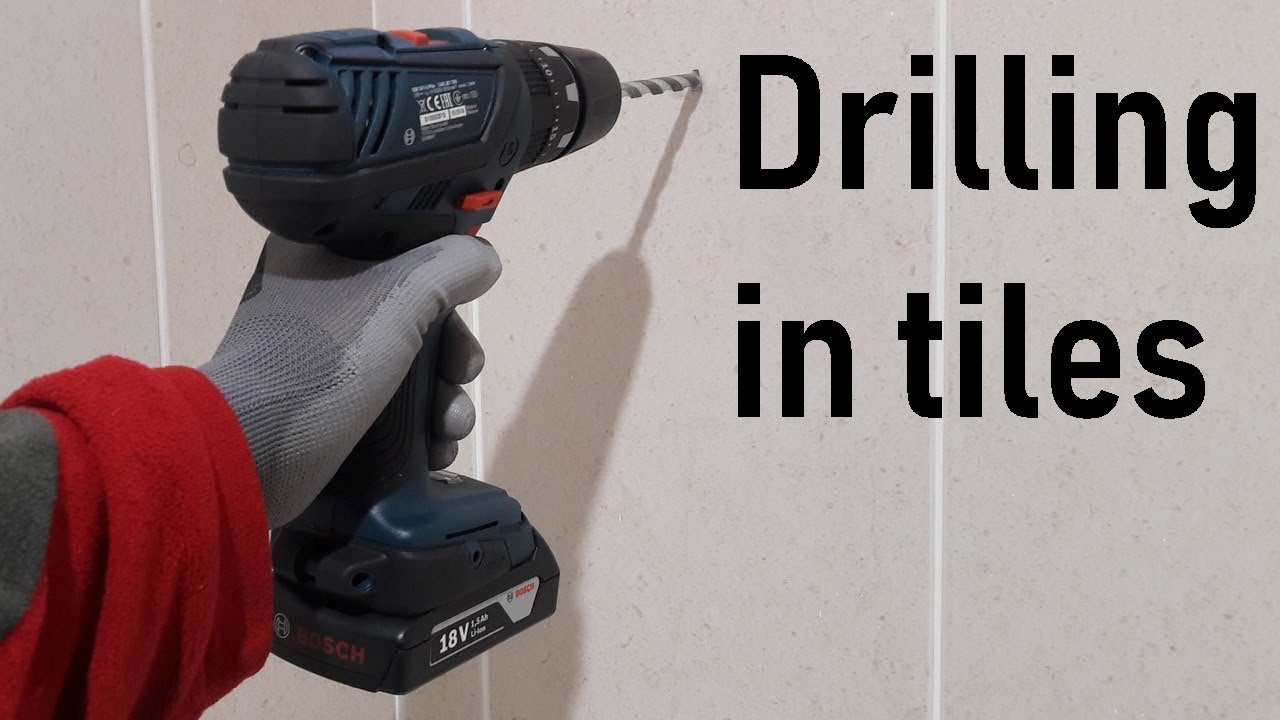 how to drill in ceramic tiles
