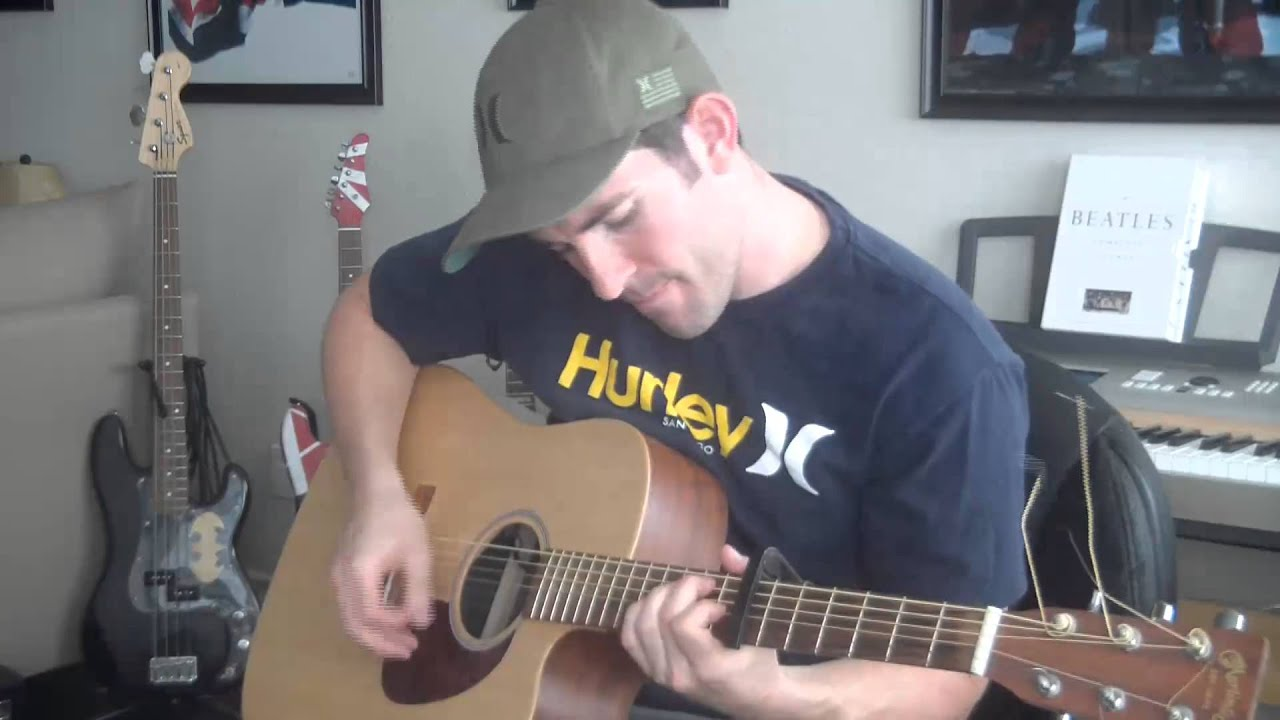 how to play here comes the sun on guitar