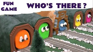Play Doh Surprise Egg Guess The Toy Trains 5 Thomas The Tank Play-Doh Thomas Y Sus Amigos Kids Toys