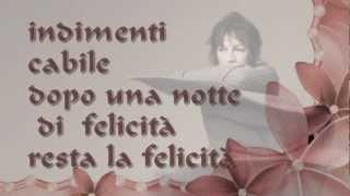 ✿⊱ Gianna Nannini - Indimenticabile - Inno ✿⊱