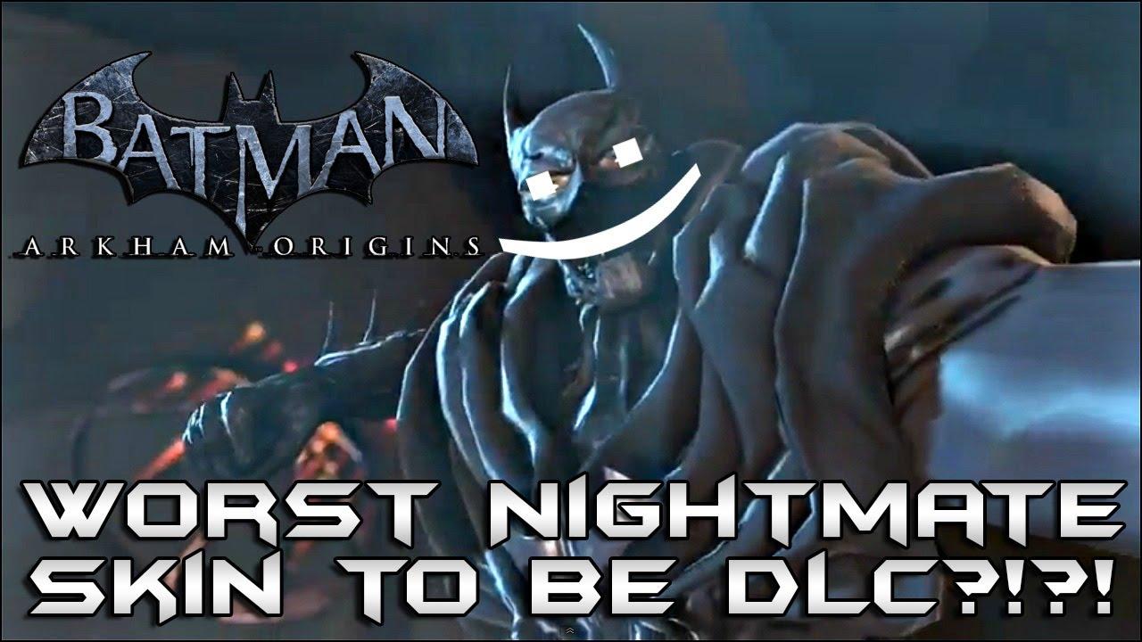 batman arkham origins worst nightmare skin confirmed as