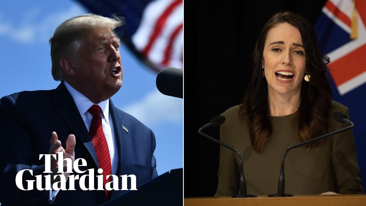 Trump angers New Zealand with Covid-19 'big surge' comments as Ardern hits back