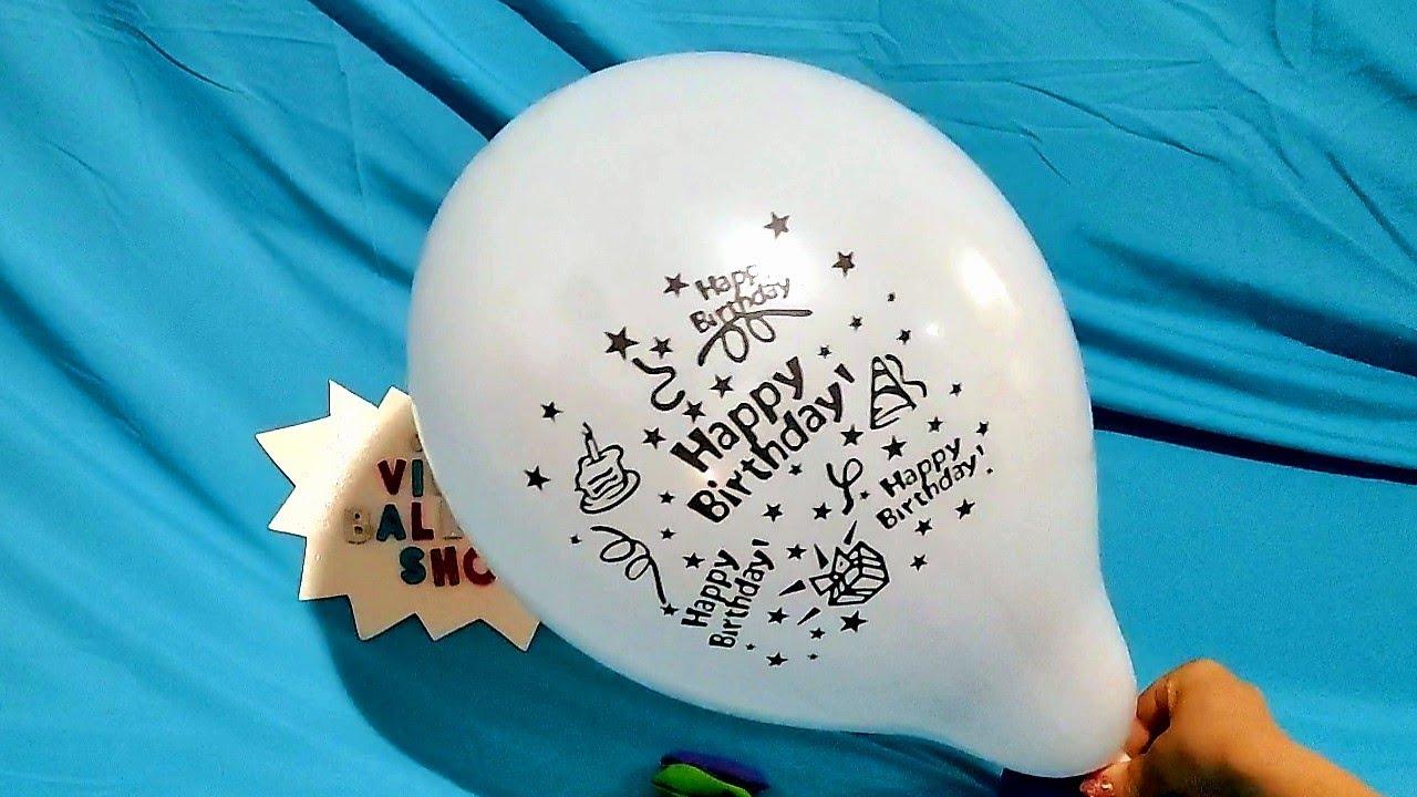 HAPPY BIRTHDAY BALLOONS POP PART 2!!!