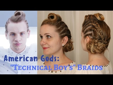 "American Gods Inspired: ""Technical Boy's"" Braids"