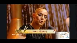 Demet Akalına ve Derya Uluga Ebru Gündeşden Altın Kelebek Ödülü