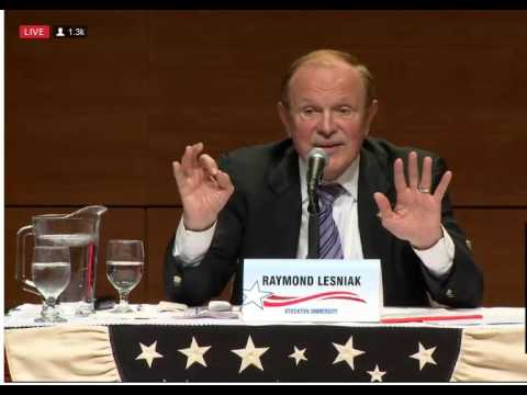 Democrat Debate New Jersey Governor on Pensions