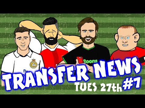 TRANSFER NEWS #7! Giroud to West Ham? Lacazette to Arsenal? Everyone to Man Utd?