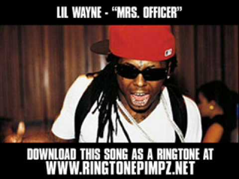 Lil Wayne ft. Bobby Valentino and Nutt Da Kidd - Mrs Officer [Video + Lyrics]