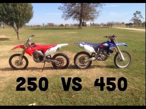 450cc Vs 250cc Dirt Bikes: What I Prefer And Why