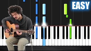 Milky Chance - Stolen Dance - EASY Piano Tutorial by Peter PlutaX