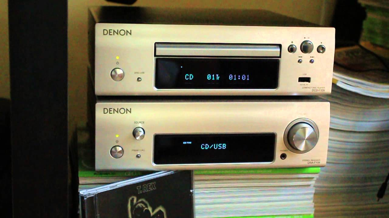 CD Denon DCD-F109 Black