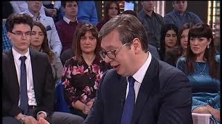 Aleksandar Vučić, ekskluzivni intervju za TV Pink o svim aktuelnim temama - 14.01.2019.
