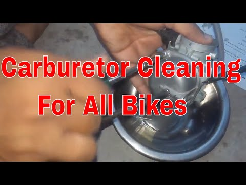 bike carburetor cleaning